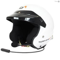 Prilba Turn One Jet-RS s FIA 8859-2015, Hans s interkomom