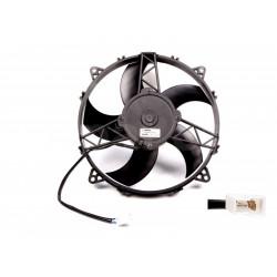 Univerzálny elektrický ventilátor SPAL 280mm - sací, 24V