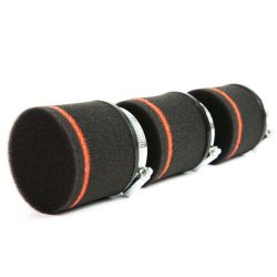 Motocyklový penový filter Ramair Red & Black 40mm