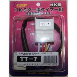 HKS Turbo Timer kabeláž TT-7, Toyota Supra MK4, Landcruiser, ALTEZZA