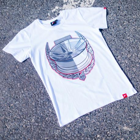 JR-Wheels JR-21 (T-Shirt) fehér