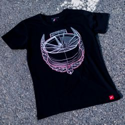 JR-Wheels JR-21 (T-Shirt) fekete