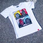 JR-Wheels MIX (T-Shirt) fehér