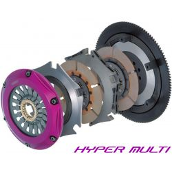 Spojková sada Exedy Racing Hyper Multi Twin Cerametallic, odpružená