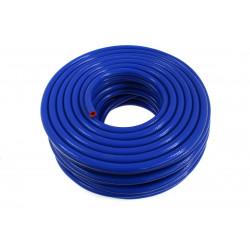 Silikónová podtlaková hadička 18mm vystužená, modrá