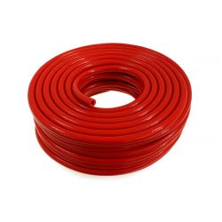 Silikónová podtlaková hadička 8mm vystužená, červená