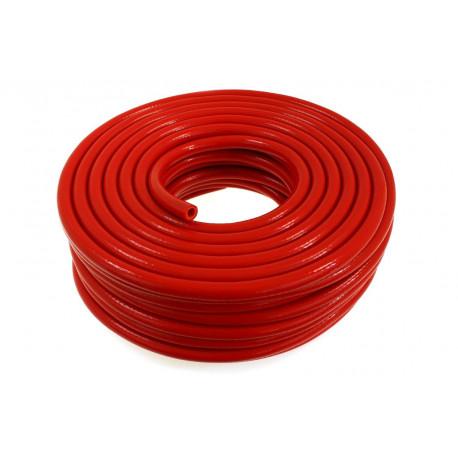 Podtlakové hadice Silikónová podtlaková hadička 20mm vystužená, červená | race-shop.sk