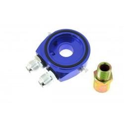 Adaptér pod olejový filter vstup/výstup AN10 blue