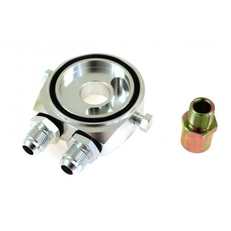 Adaptéry pod olejový filter Adaptér pod olejový filter vstup/výstup AN8 | race-shop.sk