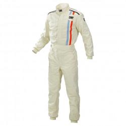 FIA Overál OMP classic cream