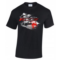 Tričko RACES Star čierne