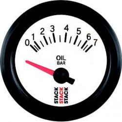 Budík STACK tlak oleja 0- 7 bar (elektrický)