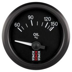 Budík STACK teplota oleja 60- 150°C (elektrický)