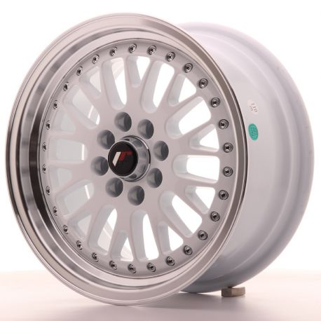 ALU disky Japan Racing Japan Racing JR10 15x7 ET30 4x100/108 White | race-shop.sk