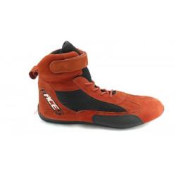 Topánky RACES high červené