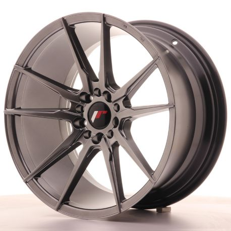 ALU disky Japan Racing Japan Racing JR21 18x9,5 ET35 5x100/120 Hiper Blac | race-shop.sk
