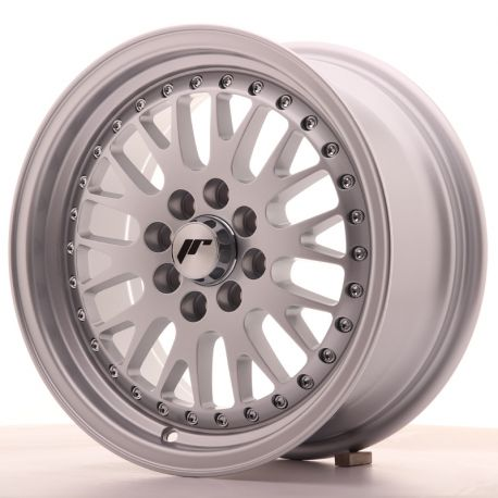 ALU disky Japan Racing Japan Racing JR10 15x7 ET30 4x100/108 Full Silver | race-shop.sk
