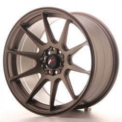 Japan Racing JR11 17x9 ET25 4x100/108 Matt Bronze