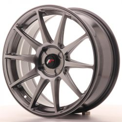 Japan Racing JR11 18x7,5 ET35-40 4H Blank Dark HB