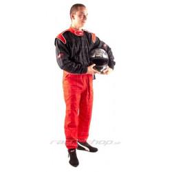 Kombinéza RACES Classic červeno/čierna