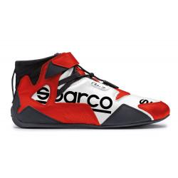 Topánky Sparco Apex RB-7 FIA bielo-červená