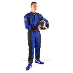 Kombinéza RACES Premium čierno/modrá