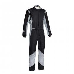 FIA Kombinéza Sparco Grip RS-4 čierno/sivá