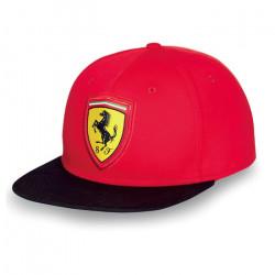 Šiltovka Ferrari flat