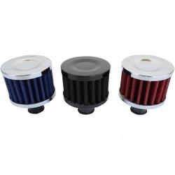 Filter na odvetrávanie kľukovej skrine RACES, rôzne farby