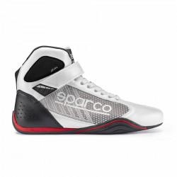 Topánky Sparco Omega KB-6 bielo-sivá