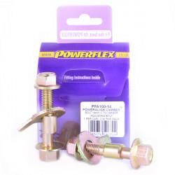 Powerflex Sada skrutiek nastavenia odklonu (14mm) Renault Scenic II (2003-2009)