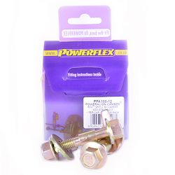Powerflex Sada skrutiek nastavenia odklonu (12mm) Ford Fiesta Mk1 & 2 All Types (1976-1989)