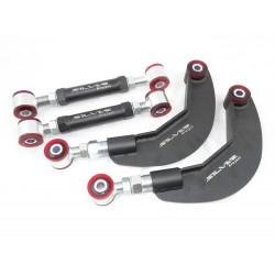 Zadné nastaviteľné ramena odklonu Silver Project (KIT) pre Ford Focus, Mazda 3, Volvo C30 (CAMBER + TOE)