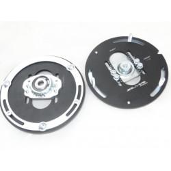 Horné nastaviteľné uloženia tlmičov Silver Project pre Mini F55, F56, F57 pre coilover