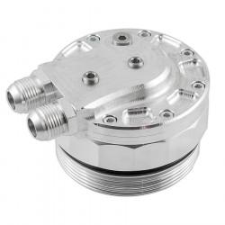 Uzáver olejového filtra pre BMW M52/ M54 na pripojenie snímačov a chladiča