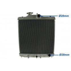 Hliníkový vodný chladič pre Honda Civic 93-97 del sol