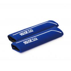 Chránič bezpečnostného pásu SPARCO modrý