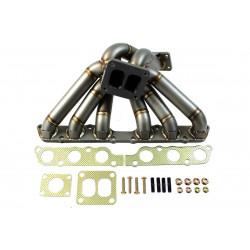 Ladené výfukové zvody EXTREME pre Toyota Supra 2JZ-GE Turbo s výstupom na wastegate