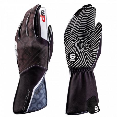 Rukavice Rukavice Sparco Motion KG-5 WP (vonkajšie šitie) čierno/biela | race-shop.sk