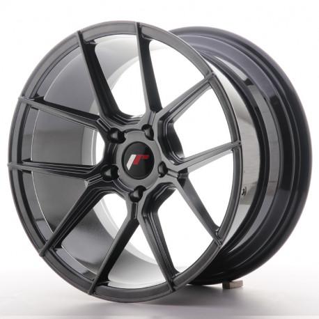 ALU disky Japan Racing Japan Racing JR30 18x9,5 ET35 5x120 Hyper Black | race-shop.sk