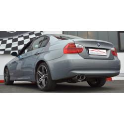 70mm Športový tlmič výfuku BMW E90 - s certifikátom ECE (861362-X)