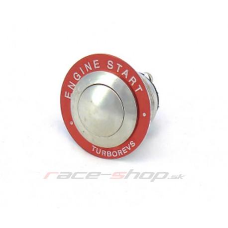 Štartovacie tlačítka a vypínače Štartovacie tlačítko nerez - sada(relé, kabeláž) | race-shop.sk