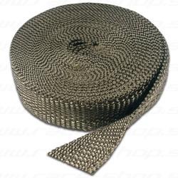 Termo izolačná páska na zvody a výfuk Thermotec carbon-titan , 25mm x 15m