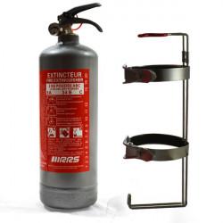 Ručný hasiaci prístroj 2kg RRS s FIA (sivá)