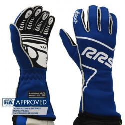 Rukavice RRS Virage s FIA homologizáciou (vonkajšie šitie) modré