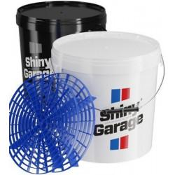 Shiny Garage Bucket 20 l - umývacie vedrá so separátorom