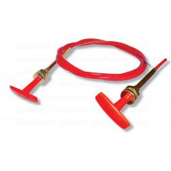 Bovden akkumulátor megszakító vagy tűzoltó rendszerhez,1,8 m