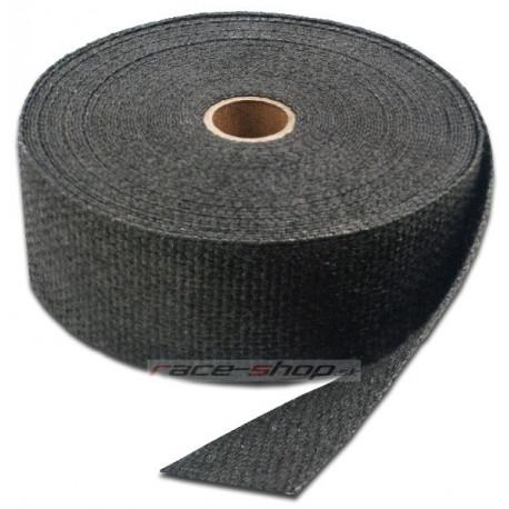 Izolačné pásky na výfuk Termo izolačná páska na zvody a výfuk Thermotec, čierna, 50mm x 4,5m   race-shop.sk