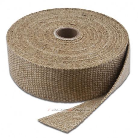 Izolačné pásky na výfuk Termo izolačná páska na zvody a výfuk Thermotec, biela, 25mm x 4,5m | race-shop.sk