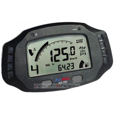Digitálne palubné ukazovatele Digitálny palubný ukazovateľ Acewell ACE-7659 | race-shop.sk